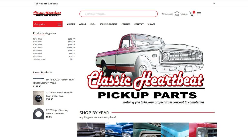 Classic Heartbeat Website