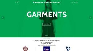 Precision Garment eCommerce Website