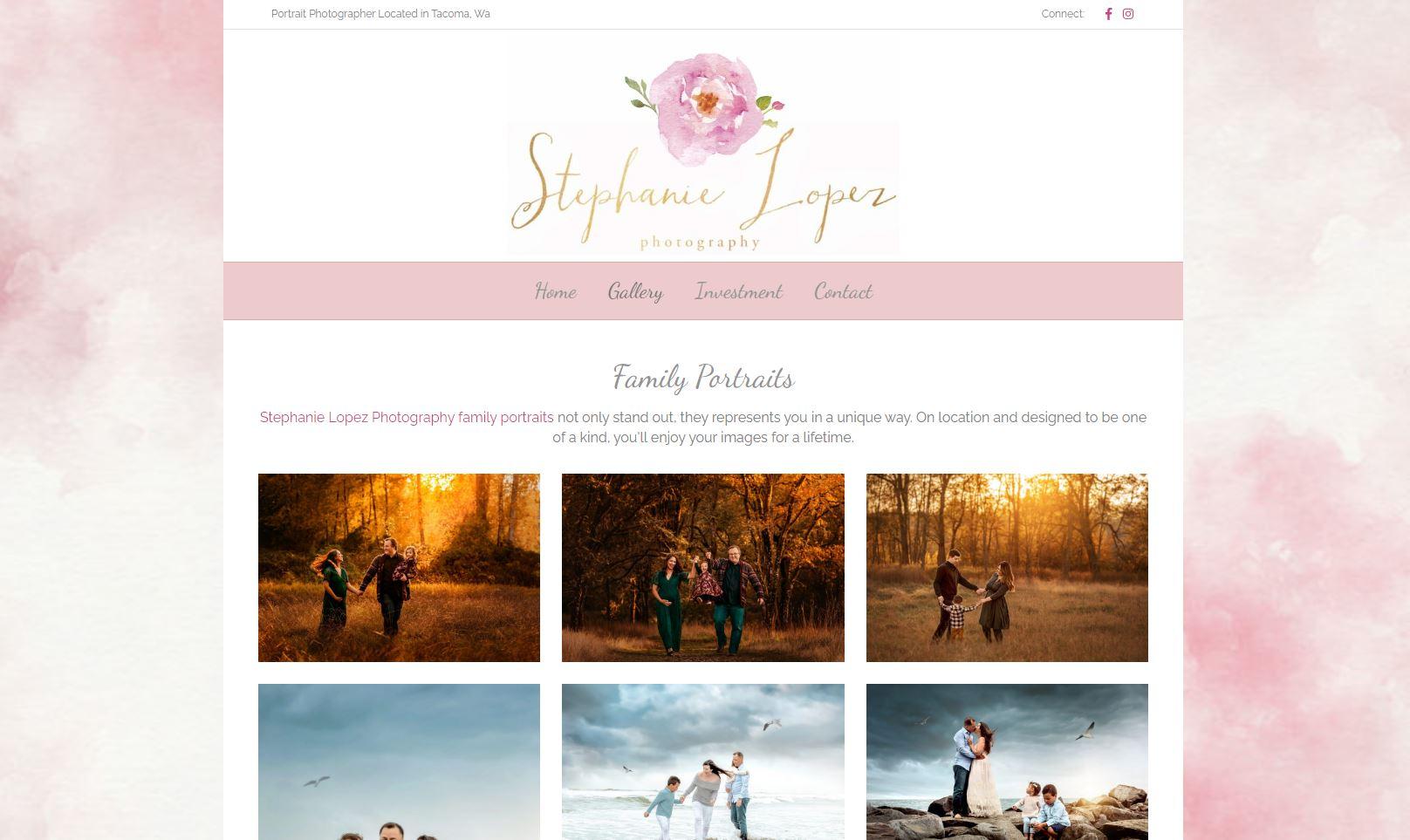 Stephanie Lopez Web Design, Hosting SEO